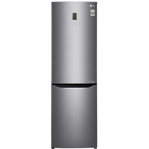Холодильник LG GA-B419SLGL серебристый в Луганске и ЛНР