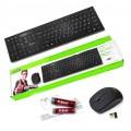 Клавиатура+мышь DeTech DT-601W