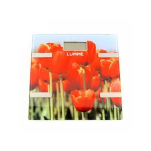 Весы напольныеLUMME LU-1333 тюльпаны в Луганске и ЛНР