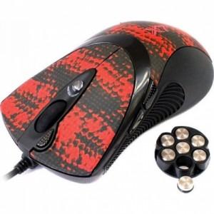 Мышь A4Tech F7 snake coating