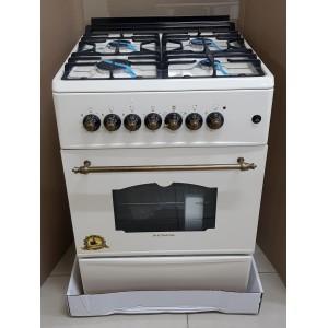 Газовая плита с духовкой электрической Femas BR57X57 RUSTIC в Луганске и ЛНР